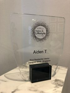 Aiden T Lux Award 2018
