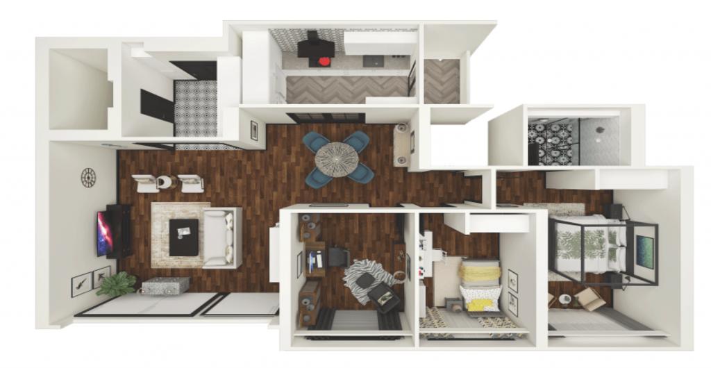Pret a Vivre Floorplan BTO